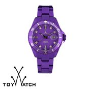 ToyWatch Metallic Violet with Stones
