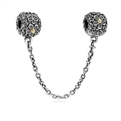 Pandora Blossom Clip Safety Chain