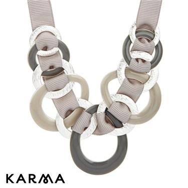 Karma Entwined Ribbon Necklace