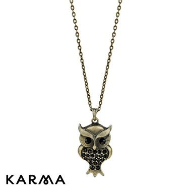 Karma Owl Necklace