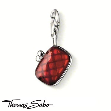 Thomas Sabo Clutch Purse Charm - Click to view larger image