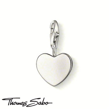 Thomas Sabo Heart Charm  - Click to view larger image