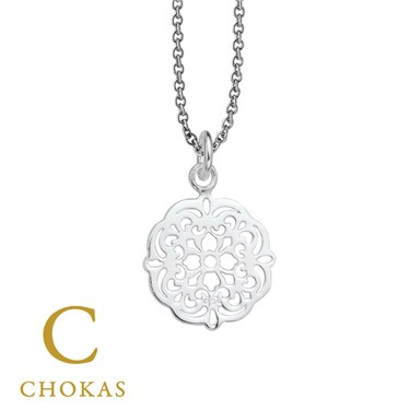 Argento Silver Filigree Necklace