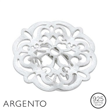 Argento Large Filigree Ring