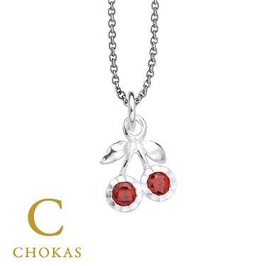 Argento Cherries Necklace