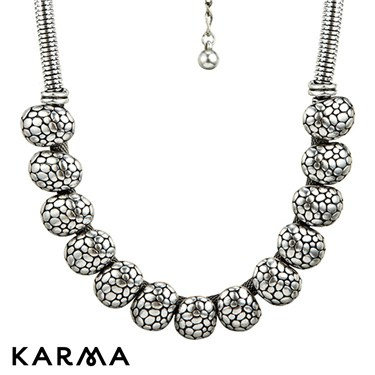 Karma Chunky Beads Necklace