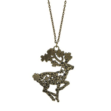Karma Reindeer Necklace