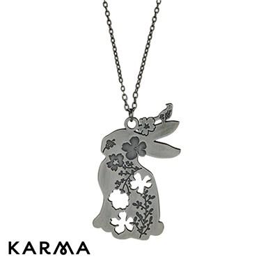 Karma Bunny Necklace