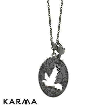 Karma Bird Necklace