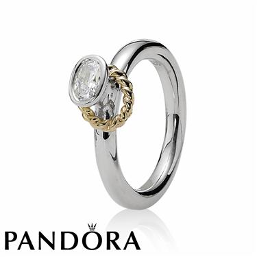 Pandora Halo Ring