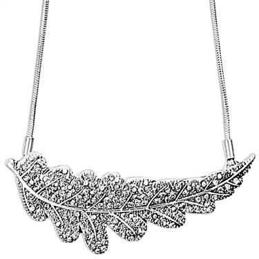 PILGRIM Forest Leaves Necklace