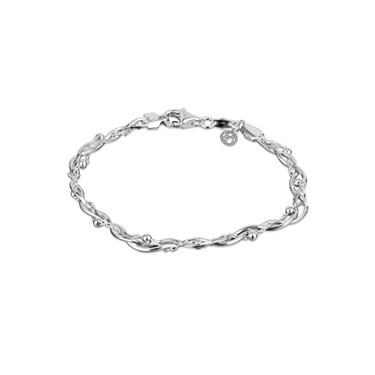 Argento Mixed Braid Bracelet