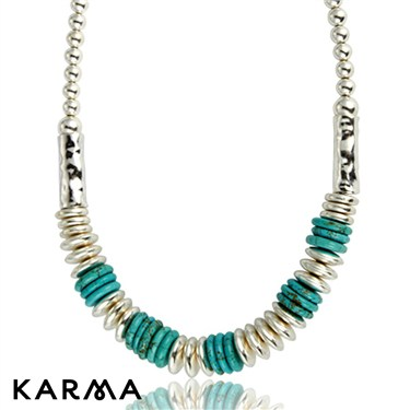 Karma Turquoise Sweetie Necklace