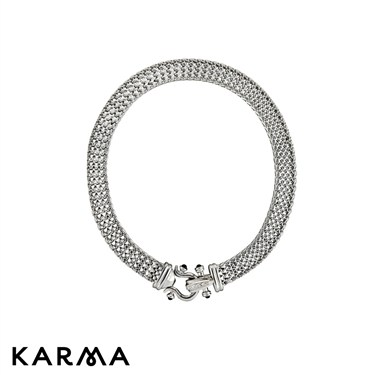 Karma Heavy Chain Necklace