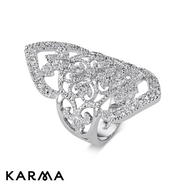 Karma Large Diamond Shape Rings