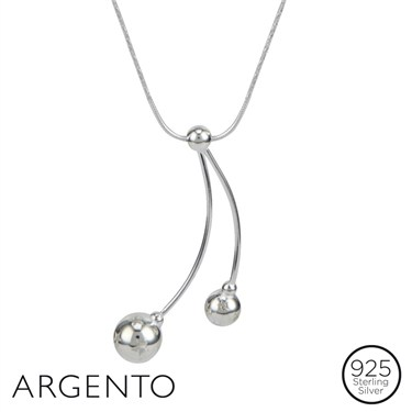 Argento Star Berries Necklace