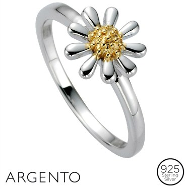 Argento Daisy Ring