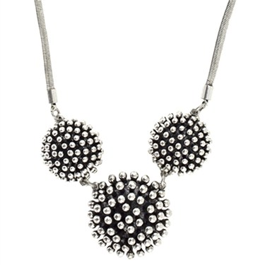 Karma Triple Cluster Necklace