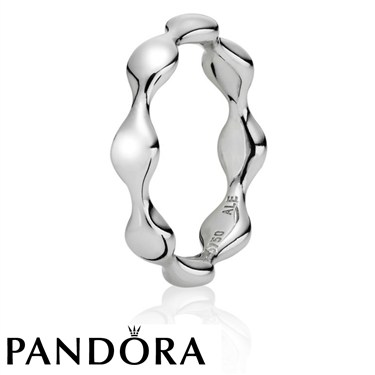 Pandora Eight Pod 18k White Gold Ring
