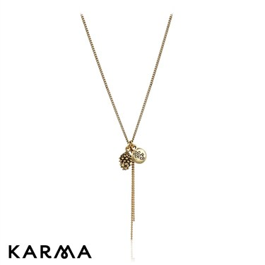 Karma Small Acorn Necklace