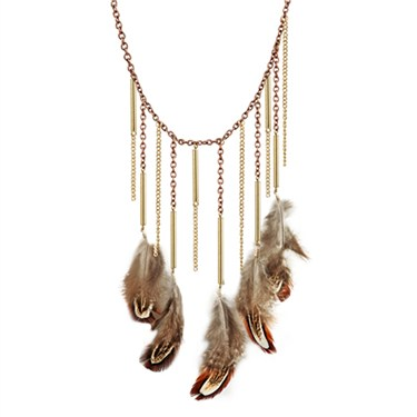 Karma Feather Necklace