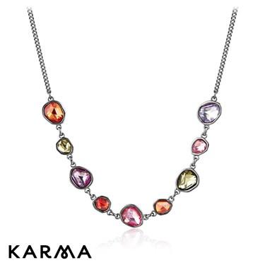 Karma Multi Stone Necklace