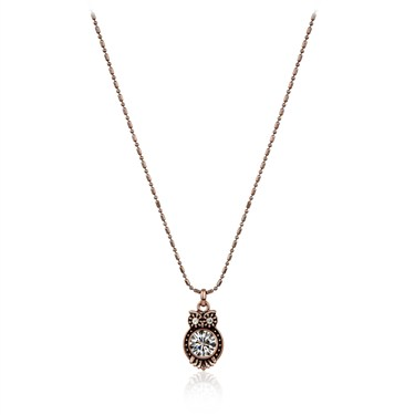 Karma Miniature Owl Necklace
