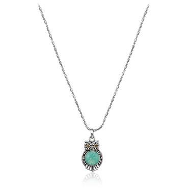 Karma Miniature Owl Necklace