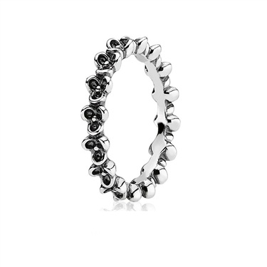 Pandora Oxidised Posy Ring
