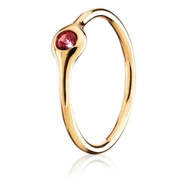 Pandora One Pod Red Topaz Ring