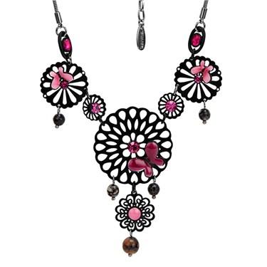 Karma Filigree Flower Necklace