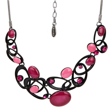 Karma Entwined Oval Necklace