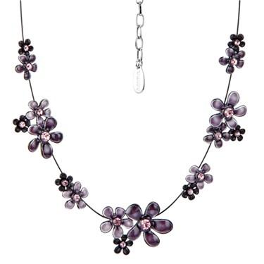 Karma Cluster Flower Strand Necklace