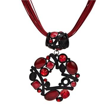 Karma Irregular Circle Necklace