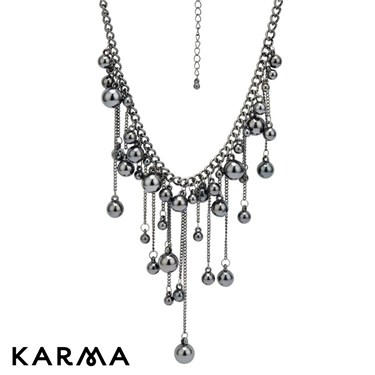 Karma Micro Baubles Necklace