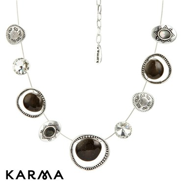 Karma Ethnic Strand Necklace