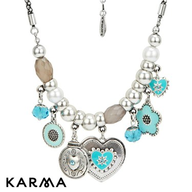 Karma Turquoise Ethnic Necklace