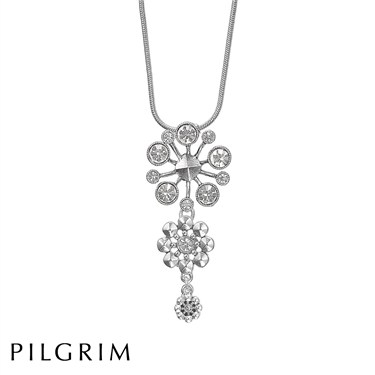 PILGRIM Frosty Night Simple Necklace