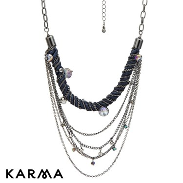 Karma Twisted Chain Necklace