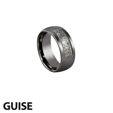 Guise Gunmetal Ring