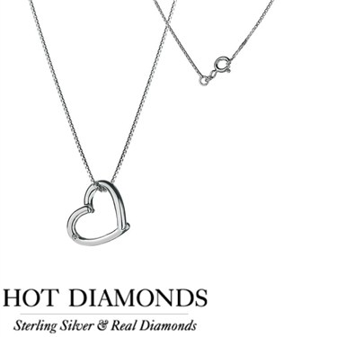 Hot Diamonds Just Add Love Necklace