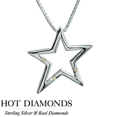 Hot Diamonds Just Add Love Star Necklace