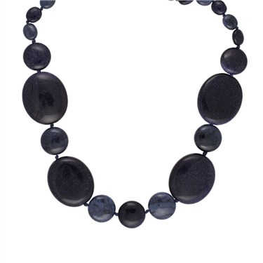Lola Rose Nini Blue Sandstone Necklace