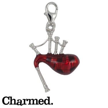 Charmed Scottish Bagpipes Charm