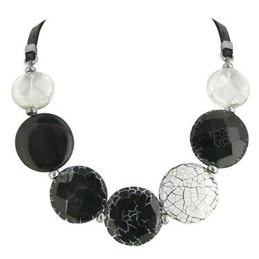 Nature Bijoux Artica Circular Stone Necklace