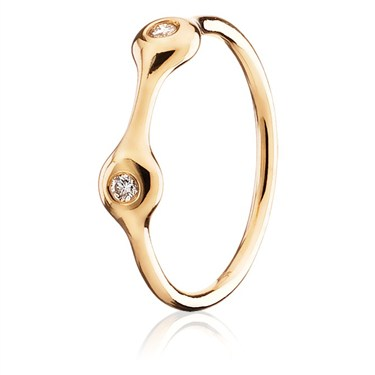 Pandora Two Pod Diamond Ring