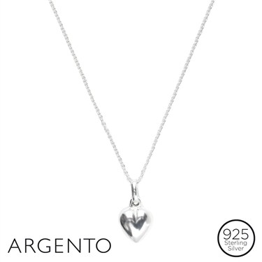 Argento Heart Necklace