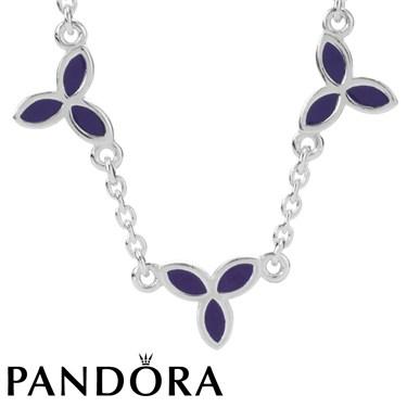 Pandora Flower Necklace