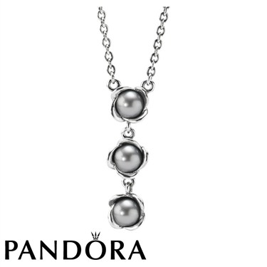 Pandora necklace pearl mozeypictures Image collections