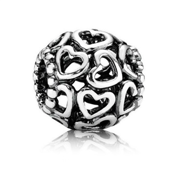 PANDORA Open Your Heart Charm   - Click to view larger image